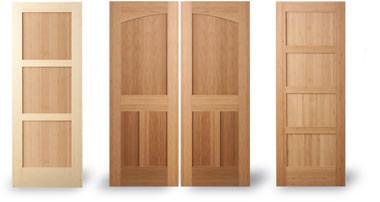 Green goods for Door rails and stiles