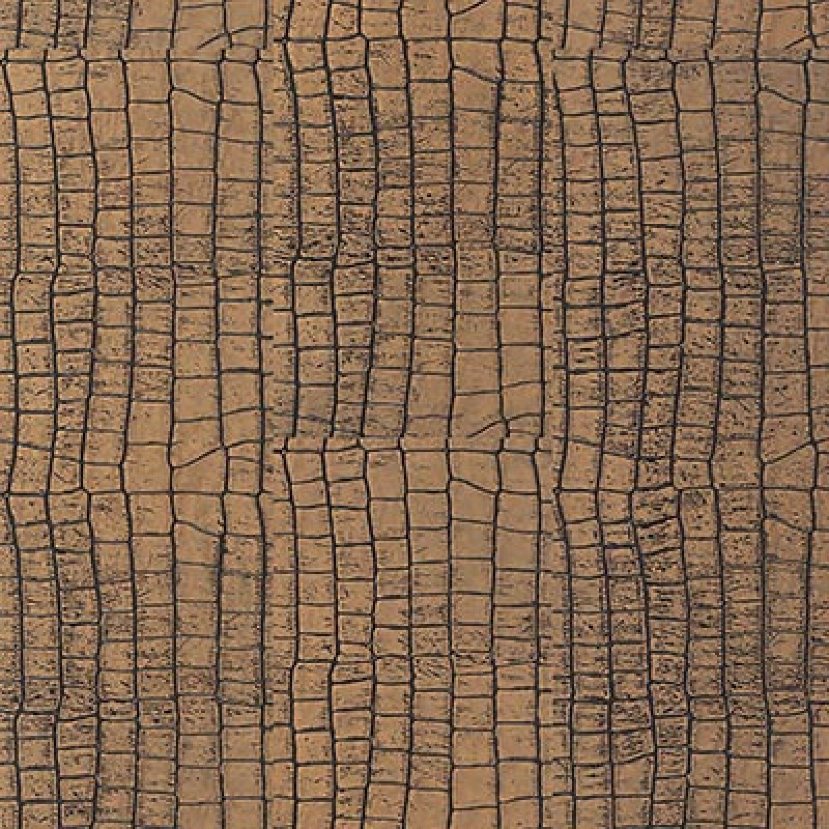Nova leather alligator gold for Leather flooring cost