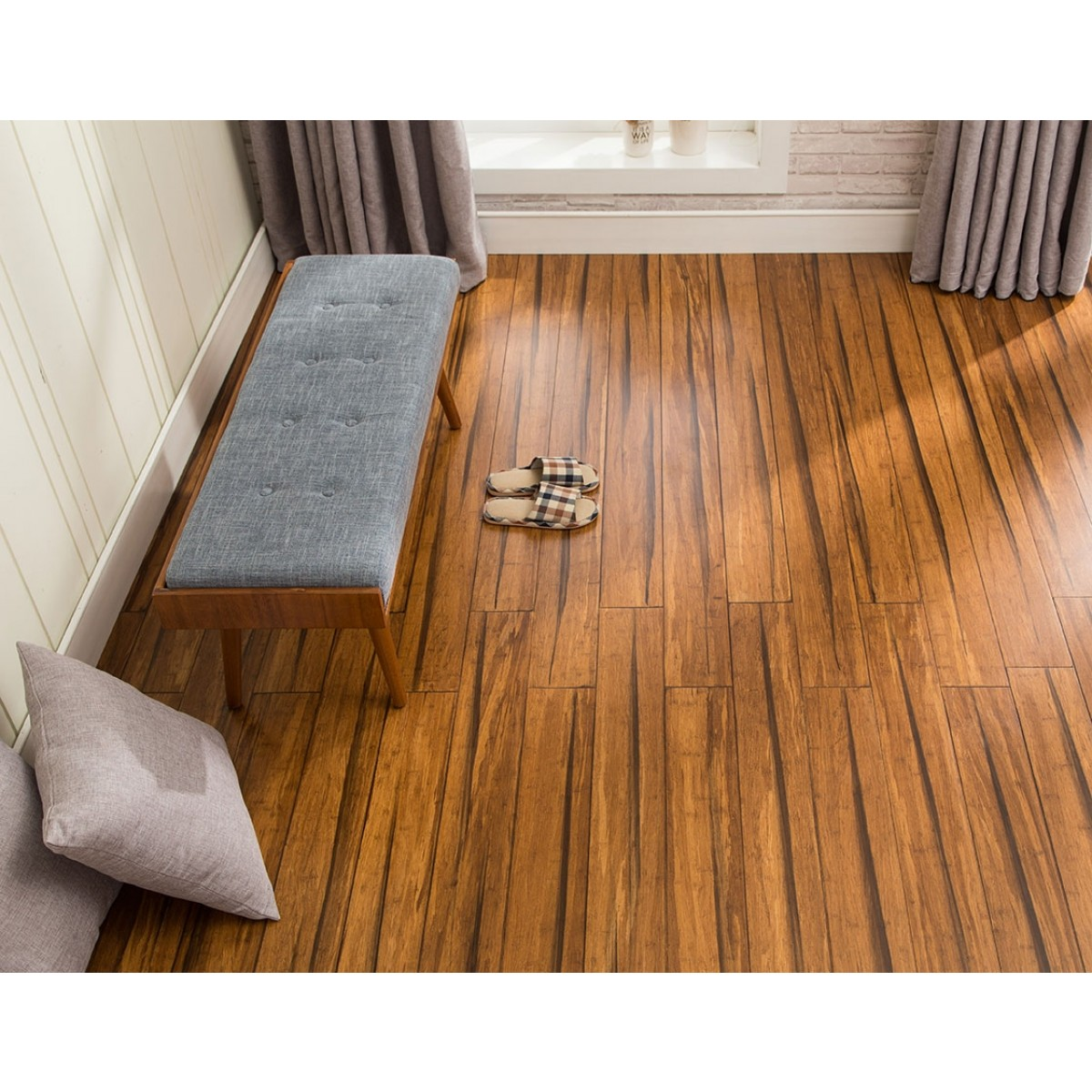 14mm Wide Plank Solid Strandwoven