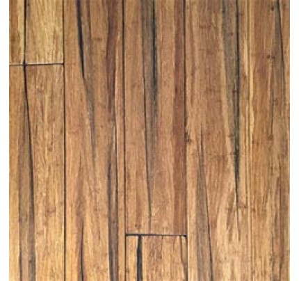 14mm Wide Plank Solid Strandwoven Bamboo - Peppercorn