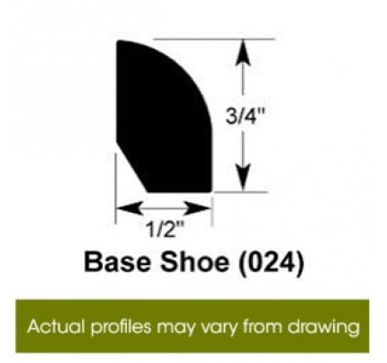 Base Shoe for Premier Fineline - 96""
