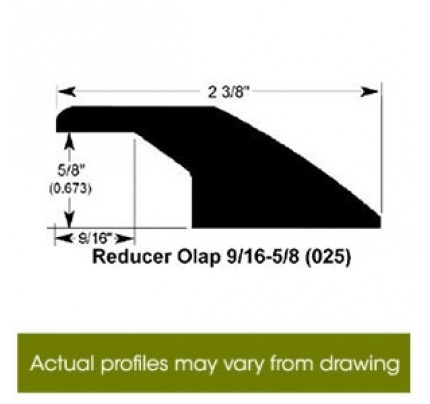 Reducer Overlap for Premier Fineline - 78""