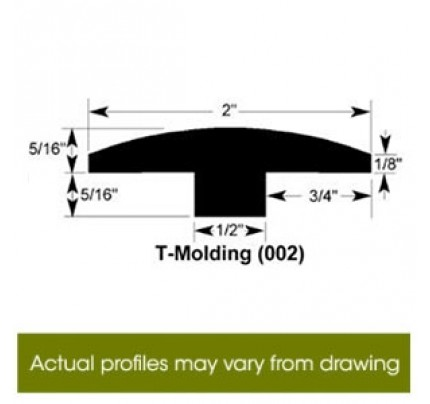 T-Mold for Premier Fineline - 78""