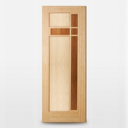 Ombak Designer Bamboo Door