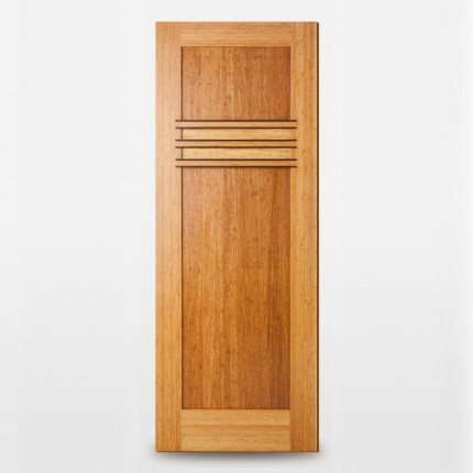 Yamba Designer Bamboo Door with Plantons