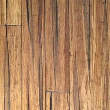 14mm Wide Plank Solid Strandwoven Bamboo - Peppercorn (Ecofusion)