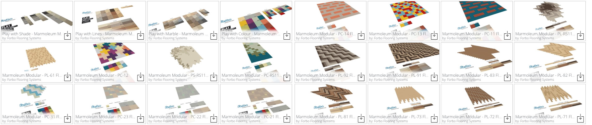 Download Marmoleum 3D Sketchup Models